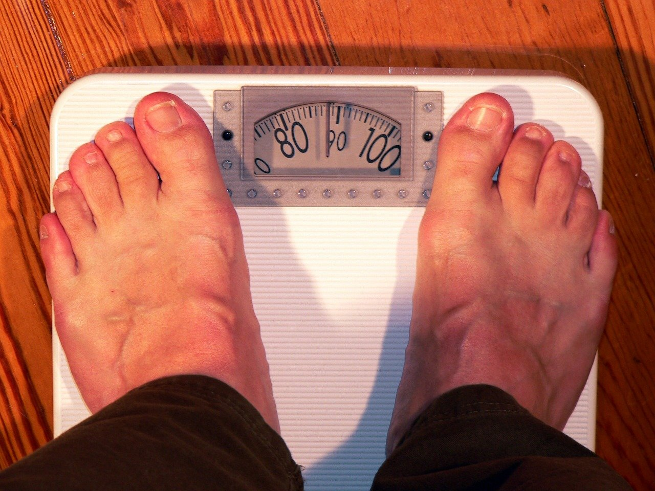 weight, scale, feet